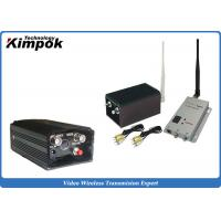 Buy Zero Delay Analog Video Transmitter with 5W Long Range CCTV Wireless Link at wholesale prices