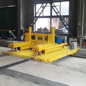 Quality Anti-high Temperature Busbar Powered Heavy Duty Cross Bay Ferry Bogie for sale