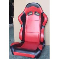 Quality Red Black Sport Racing Seats With Single Or Double Slider Simple Installation for sale