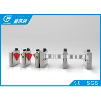 Quality Card Reader Mechanical Turnstile , Two - Way Pedestrian Turnstile Gate Systems for sale