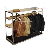 Quality hanging clothing shelf,placing clothes shelf for sale