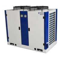 Quality Compact  Air Cooled Condenser Space Saving With Cooper Tube Aluminium Fin for sale