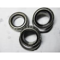 Quality Lower Operating Temperature Single Row Tapered Roller Bearings With Open Seal for sale