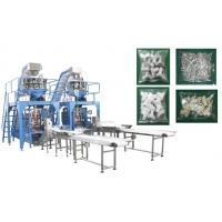 Quality Small Hardware / Pipe Fittings Multihead Weigher Packing Machine With Mild / Stainless Steel Body for sale