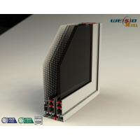 Buy Color Coated Aluminum Extrusion Profiles , Customized Door Frame Profiles at wholesale prices