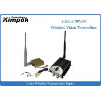 Quality 1400m Long Distance AV Wireless Transmitter / Video Transmission Equipment 8CHs for sale