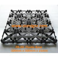 Quality PB-09 Interlocking Plastic mat for decking tiles for sale