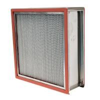 Quality High Temperature HEPA Air Filter 15.6㎡ Large Filter Area For Food Factory for sale