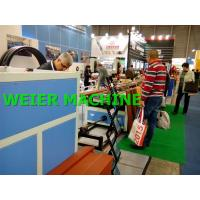 Quality Automatic WPC Profile Extrusion Line For outdoor Decking / Pallets / Packing Plates for sale