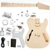 Quality TL Type DIY Electric Guitar Kits Maple neck Guitar with F Hole On The Top AG-TL4 for sale