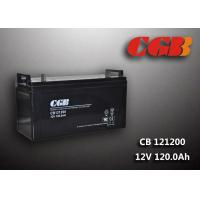 Quality CB121200 12V 120AH High Capacity Lead Acid Battery Non Spillable Maintenance Free for sale