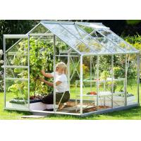 Quality Small Hobby Flower Garden Greenhouse With Casement Door Simple Firm for sale