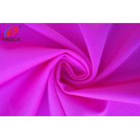 Quality Red Colour Polyamide / Nylon Spandex Fabric For Yoga Leggings for sale