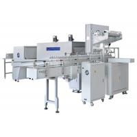 Quality Fully Automatic Beverage Bottle Packing Machine With Shrinkable PE Film for sale