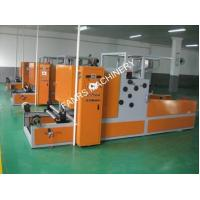 Quality Slitting Automatic Aluminum Foil Rewinding Machine for Food Fruit with Embossing Roller for sale