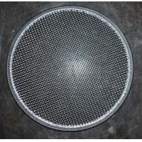 Quality 304 Round Stainless Steel Filter Screen , Filter Discs , Edge Treated for sale