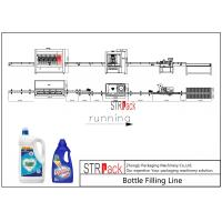 Quality PLC Control Laundry Detergent Filling Machine Line With High Production Efficiency for sale