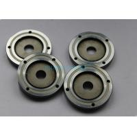 Quality Auto Precision Plastic Mold Components Silver Wheel Gear With Steel Material for sale