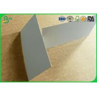 Quality Smoothness surface grey board 300gsm to 1500gsm for hard box package for sale