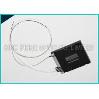 Buy 45dB Fiber Optic PLC Splitter Duplex Single Mode With 1310nm Wavelength at wholesale prices