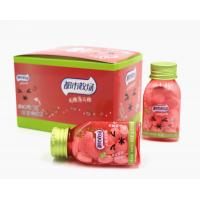 Buy cheap Bottle pack 21.8g*6pcs Peach flavor Sugar Free Mint Candy Miss RED Lovely from wholesalers