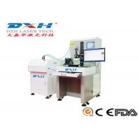 Quality High Speed Spectroscopical Fiber Laser Welding Machine With CCD System 80J for sale