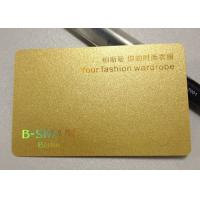 China Golden PC / SIM card material , A4 inkjet pvc sheet for plastic card 1.42 density on sale