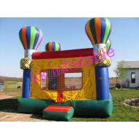 Quality Outdoor Hot-Balloon Inflatable Bouncer For Children Amusement Park Rentals for sale