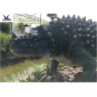 Quality Artificial Animatronic Dinosaur Lawn Statue For Outdoor Amusement Theme Park for sale