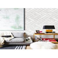 Buy Beige PVC Waterproof Wallpaper , Interior Room Wallpaper For Decoration at wholesale prices