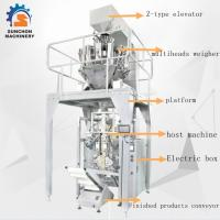 Quality SUN -520 Stainless Steel Multiheads Weigher Weighing Popcorn Noodle Snack Food Puffy Food for sale