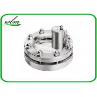 Quality 10 Bar Sanitary Flanged Sight Glass For Tanks , Explosion - Proof Design for sale