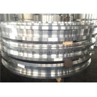 Quality Hot Rolled ASTM JIS BS EN DIN Steel Forging Rings  Heat Treatment And Machined for sale