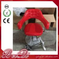 Quality Hair Salon Styling Chairs Used Barber Shop Equipment Antique Red Barber Chair for sale