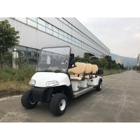 Quality Installed With Plastic Cargo Box Small Electric Golf Carts 6 Seats Without Car Ceiling for sale