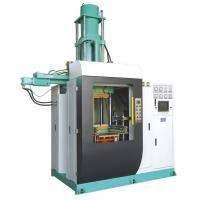 Quality Vertical Silicone Rubber Injection Molding Machine , 400 Ton Rubber Stopper Injection Machine 4000cc Volume for sale