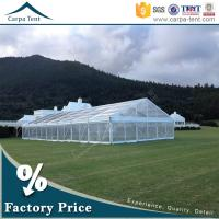 Quality Outdoor Corporate Event Marquees Party Tents with Transparent Walls for sale