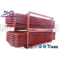 China Industrial Biomass Boiler Finned Tube Economizer Painted Anti Corrosion for sale