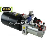 Quality DC 12V 210Bar Horizontal Mounting Hydraulic Power Unit for Sideloader Trucks for sale