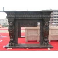 Quality Fireplace Frame, Black Marble Fireplace mental for sale