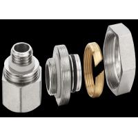 Quality Zinc Plating Brass Threaded Fittings For Stainless Steel Water Manifold for sale