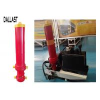 Quality Muiti Stage Dump Trailer Hydraulic Cylinder  , Single Acting Hydraulic Ram for Mining Truck for sale