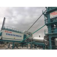 Quality 1500 Model Asphalt Mixing Plant Mobile , Portable Batch Plant With 20T Hot Storage Bin for sale