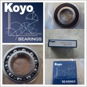 Quality Sealed 2HRS Gcr15 16006 Koyo Bearing , Single-row Deep Groove Ball Bearings for sale