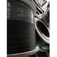 Buy Outdoor FRP / KFRP Fiber Optic Drop Cable , FTTH Drop Cable Black Jacket at wholesale prices