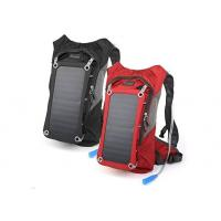 Buy cheap Custom Solar Powered Laptop Backpack / Solar USB Charger Backpacking from wholesalers