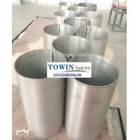 Quality Durable Niobium Products Silvery And Smooth Welded Niobium Crucible for sale