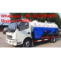Quality HOT SALE! best price DONGFENG 4*2 Cleaning Suction Sewage truck 6m3, dongfeng high pressure jetting sewer truck for sale for sale