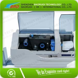 Quality Zebra P330i small plastic ID/ pvc card printer for sale