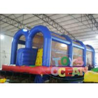 China Outdoor Easy Inflatable Obstacle Course Rental Birthday Party Security on sale